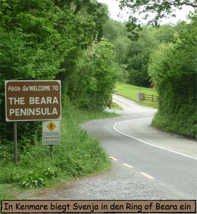 Beara Peninsula Schild Sign