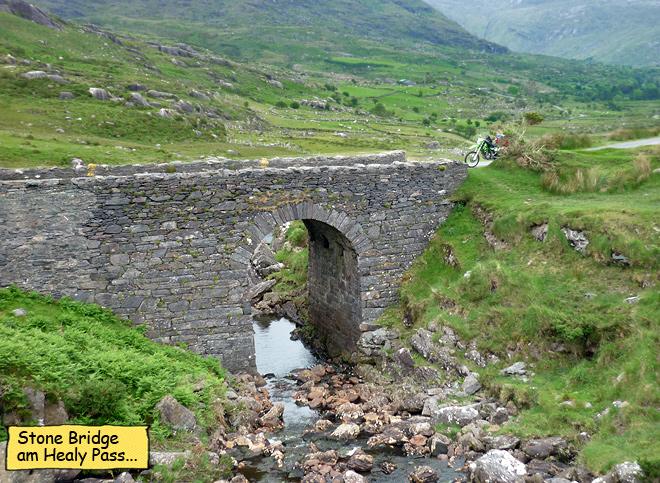 Steinbrücke Healy Pass Beara Peninsula