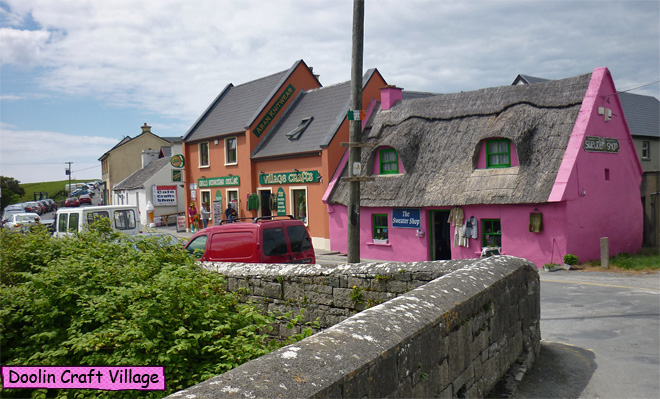 Fisher Street Doolin Craft Village