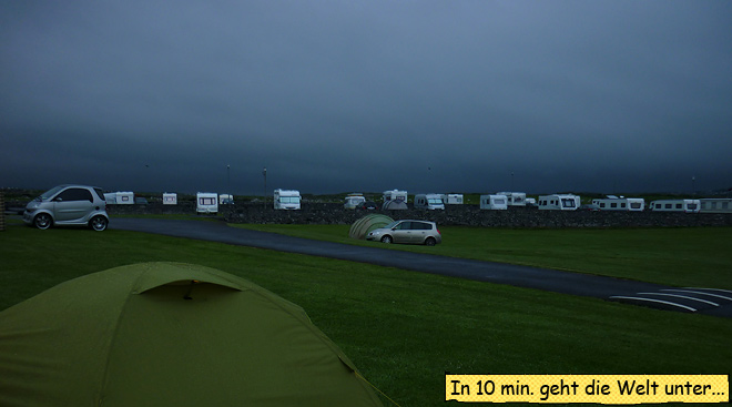 Wetter Irland Camping