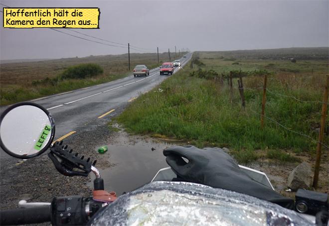 Motorradtour durch Irland