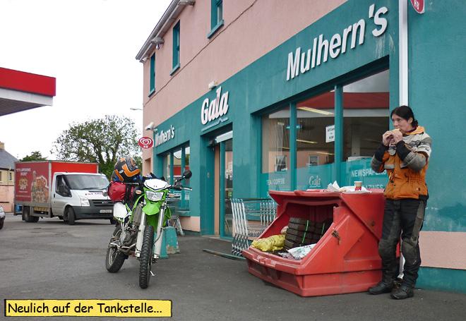 Svenja Irland Motorrad