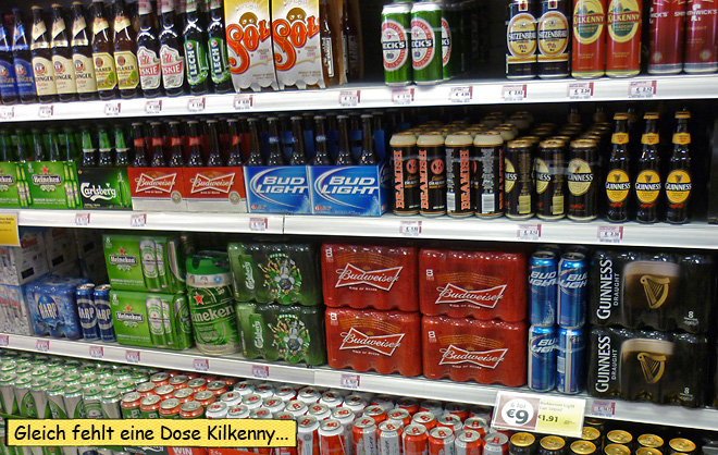 Bier Irland Supermarkt
