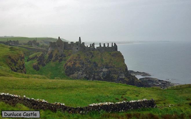 Dunluce Castle Irland