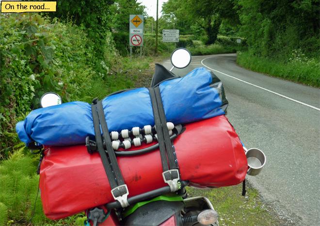 Motorradtour Irland