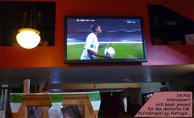 Fußball gucken im Pub
