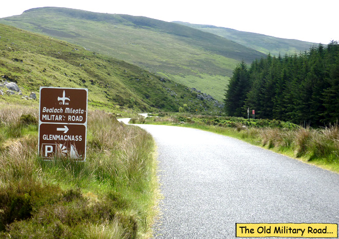 Wicklow Mountains Military Road 1798