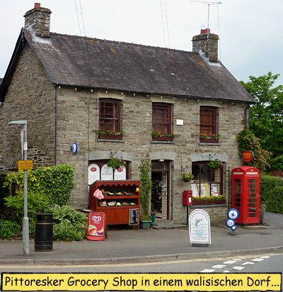 Grocery Shop in Wales