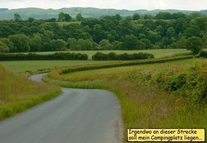 Motorradreise durch Wales