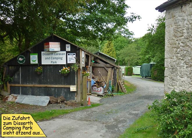 Disserth Caravan Camping Wales