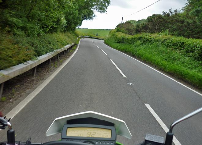 Motorradtour durch Wales