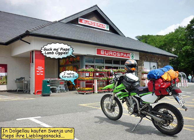 SPAR-Markt in Wales