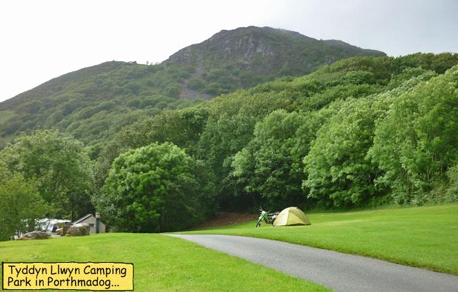Tyddyn Llwyn Camping Porthmadog Wales