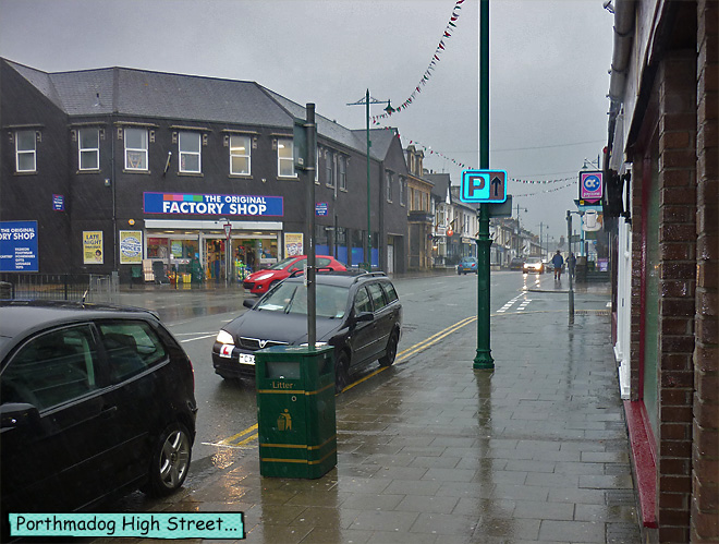 Porthmadog High Street