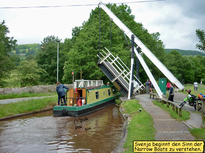 Brecon Canal Narrow Boat