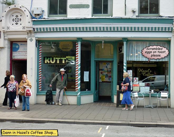 Hazels Coffee Shop Abergavenny