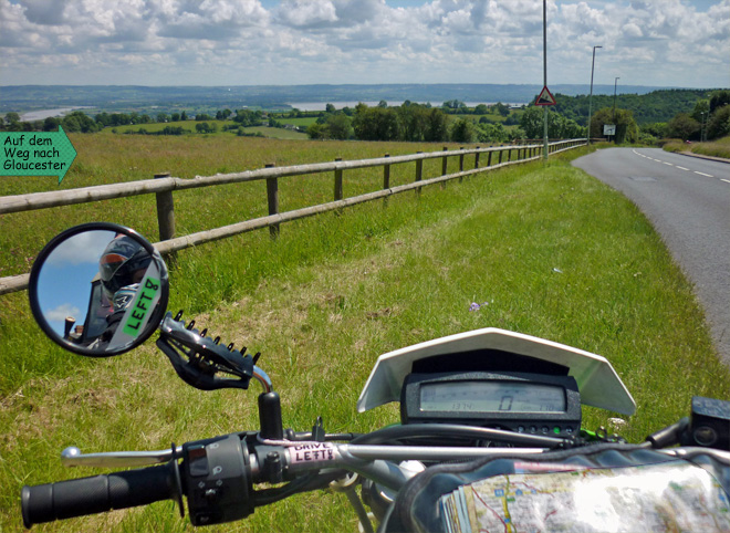 Gloucestershire Motorradtour