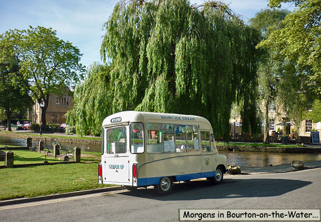 Alter Eiswagen Bourton-on-the-Water