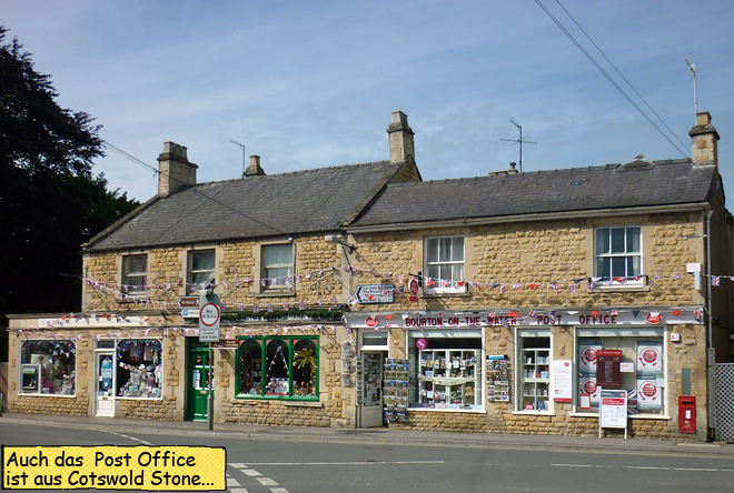 Post Office Bourton-on-the-Water Cotswolds