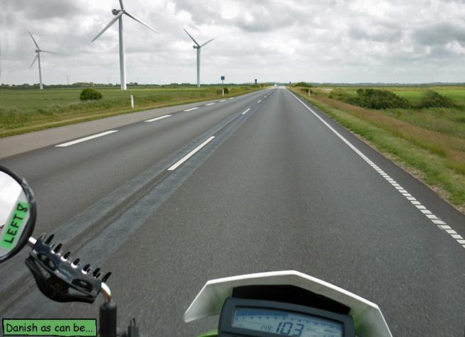 Motorradfahren in Dänemark