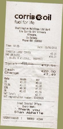 Irland Benzinpreise
