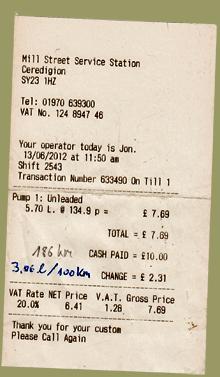 Benzinpreise Wales