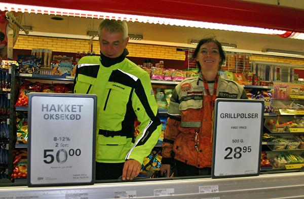 Supermarkt auf Rømø