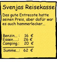 Reisekosten Schweden