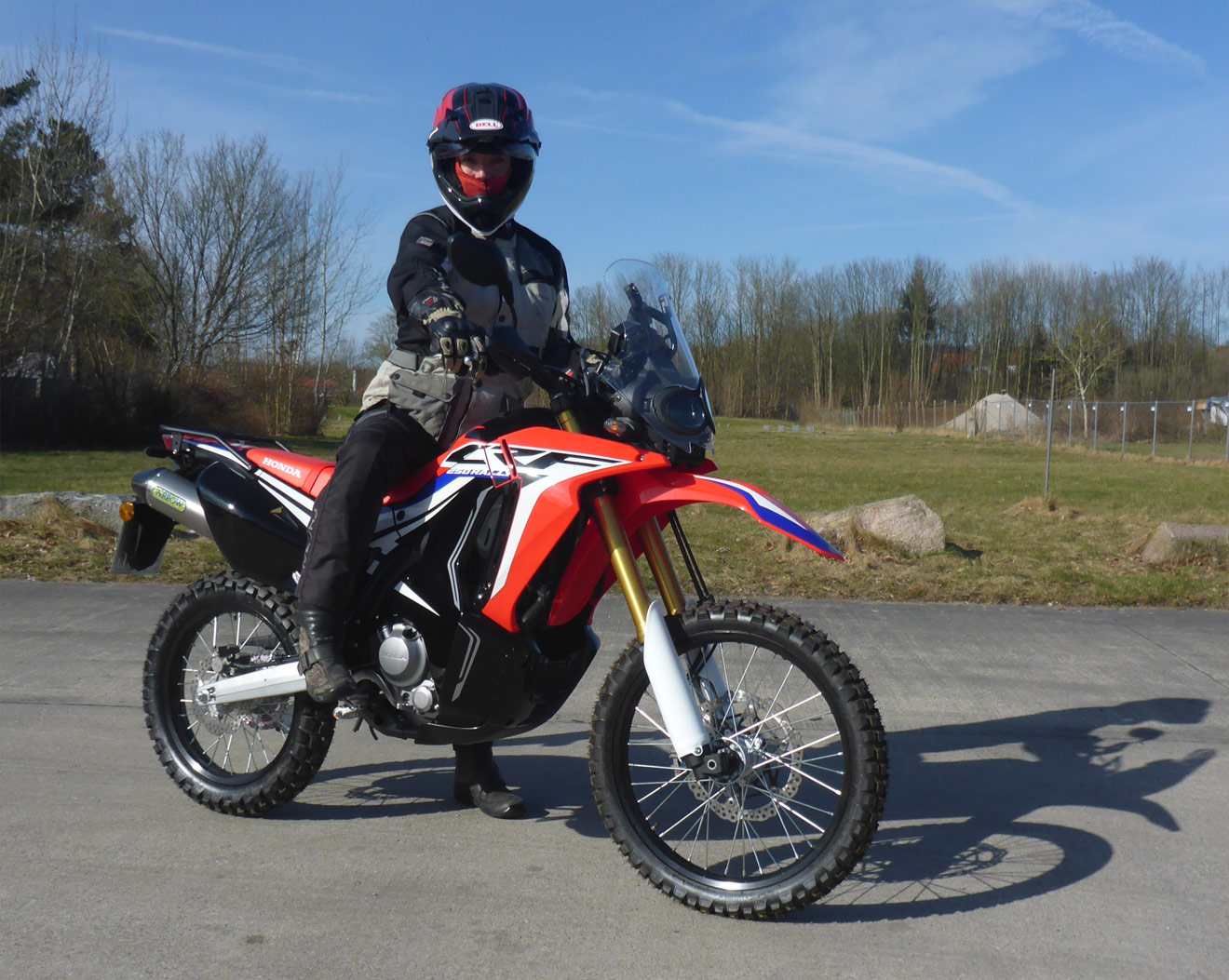 Honda Africa Single CRF250 Rally
