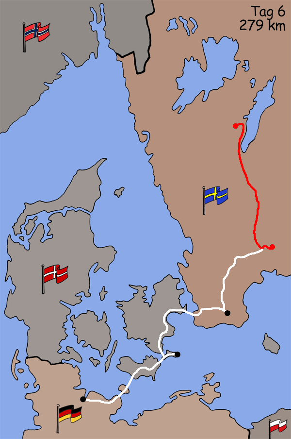 Motorradreise Schweden