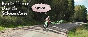 Motorradtour Schweden