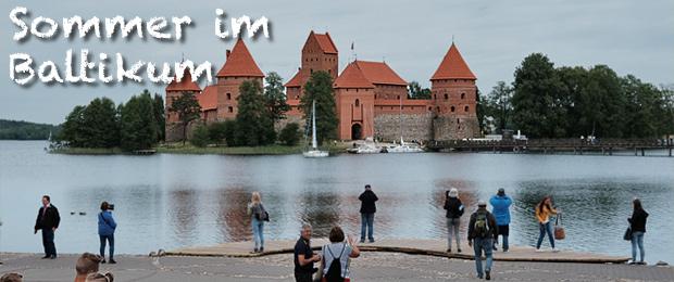 Burg Trakai Litauen