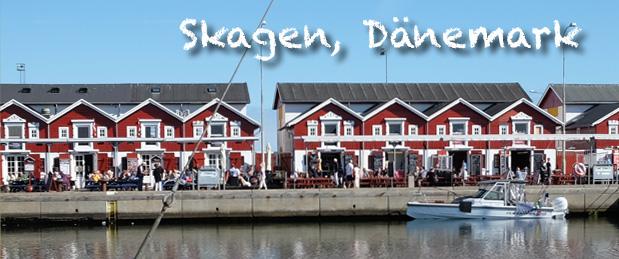 Skagen Dänemark im Spätsommer